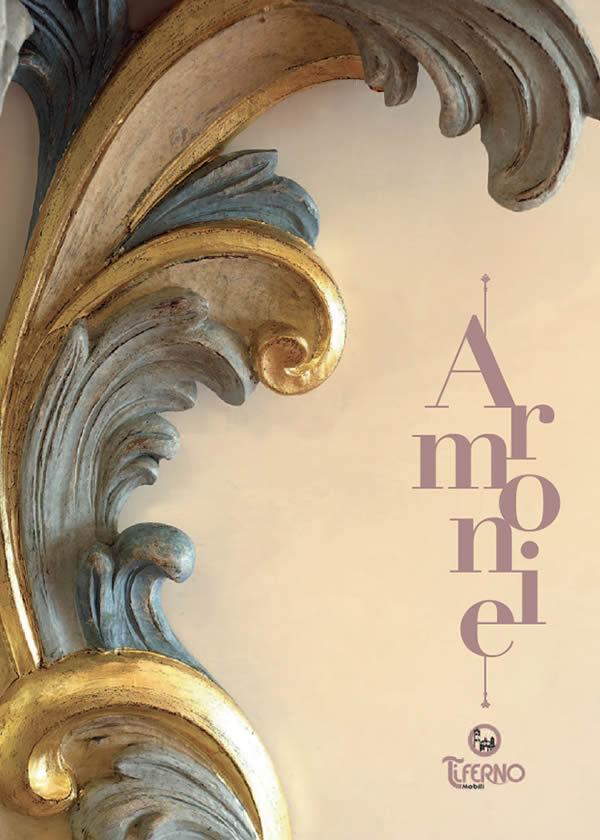 Copertina catalogo armonie