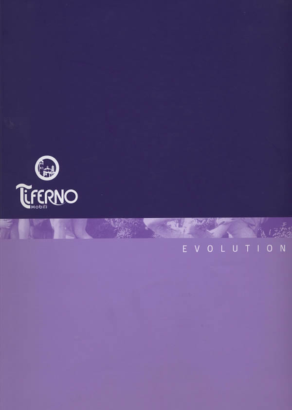 Copertina catalogo Evolution