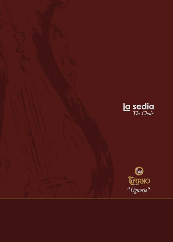 Copertina catalogo Signorie la Sedia