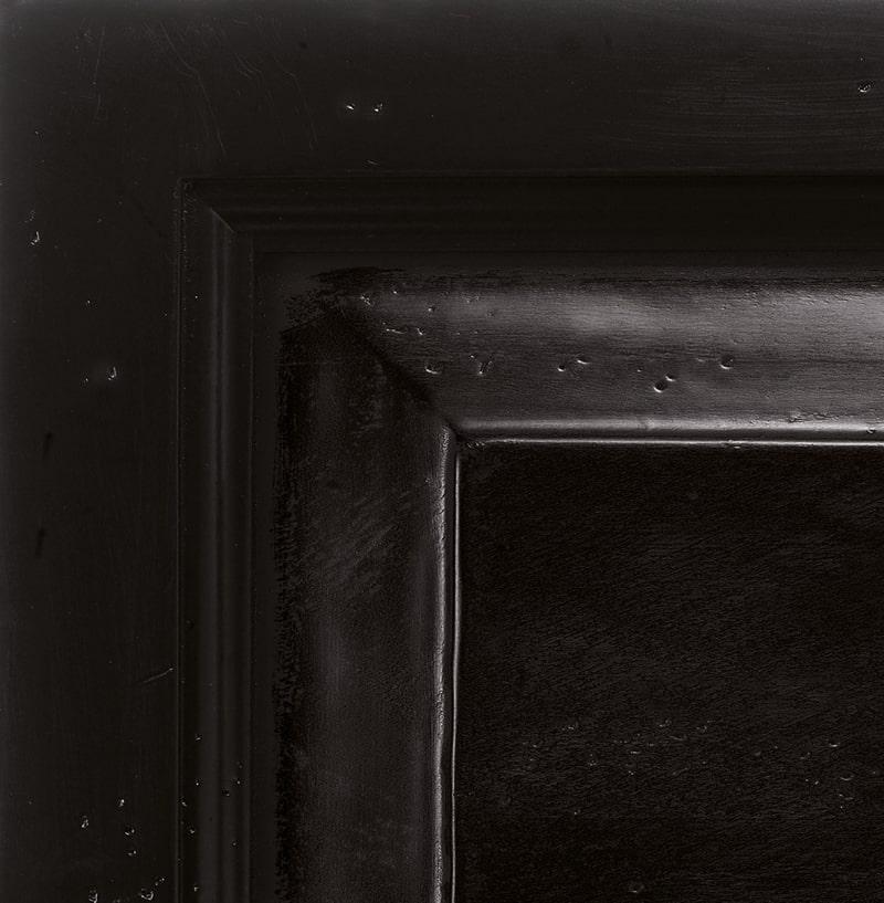 Legno laccato nero antiquariato '700