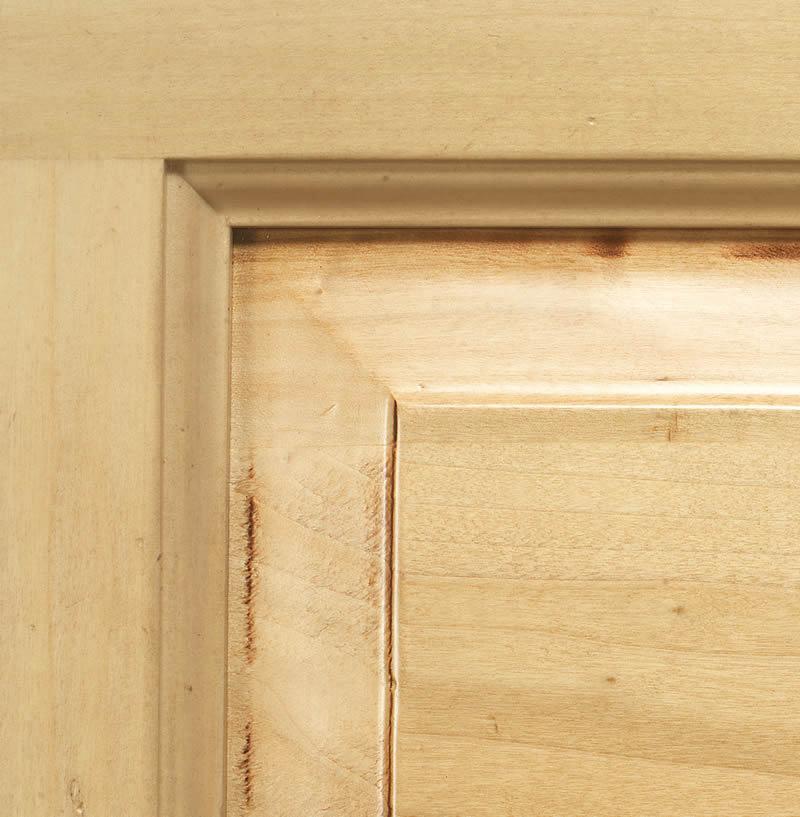 Tinta naturale su legno lucidato a cera