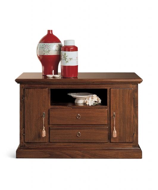 Porta TV ruotine, cassetti e antine