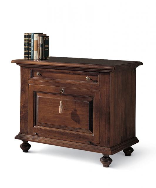 Porta TV sagomato con cassetto
