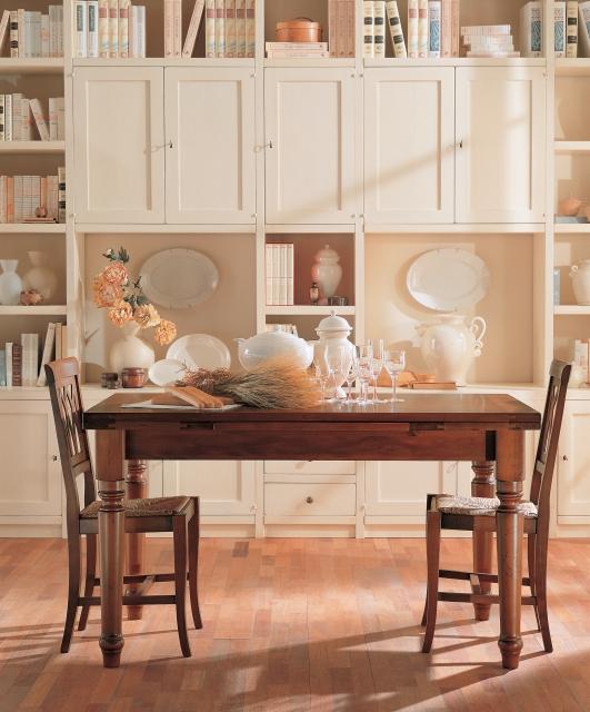 Tavoli allungabili in legno massello