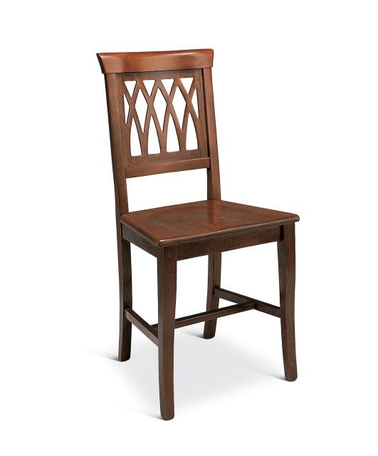 """Sedia """"Grata"""" seduta in legno"""