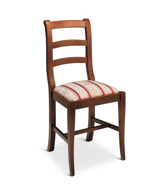 "Sedia ""Chiocciola"" seduta in stoffa"