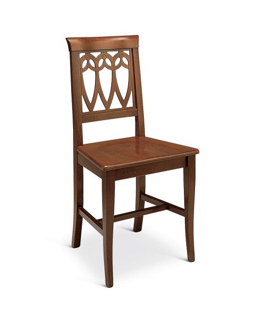 """Sedia """"Tulipani"""" seduta in legno"""