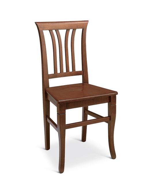 Sedia a ventaglio seduta in legno