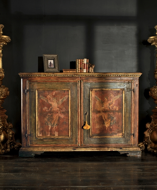 Credenza due ante larghe