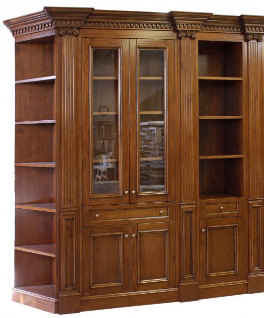 Libreria per studio in stile Whitehall